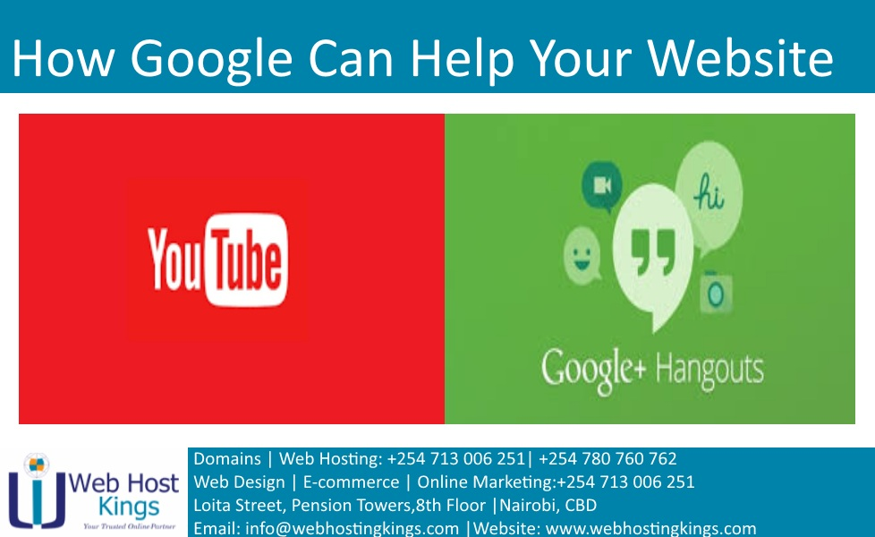 How Google Can Help Your Website - Web Host Kings